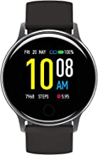 """$25 » Smart Watch, UMIDIGI Uwatch 2S Fitness Tracker Heart Rate Monitor, Activity Tracker with 1.3"""" Touch Screen, 5ATM Waterproo..."""