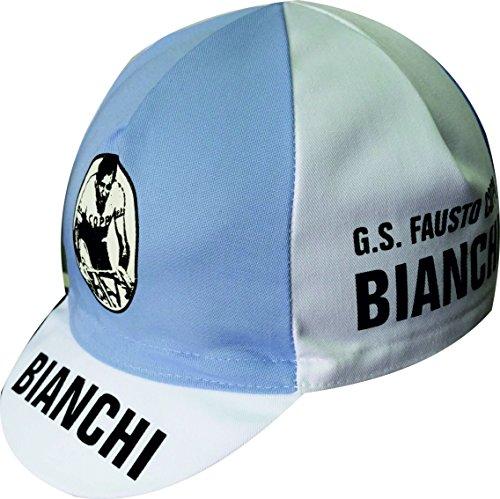 Cappellino da ciclismo Coppi Bianchi