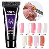 penta Polygel Nail Kit, 9 Colores 15ml Gel De Color De Esmalte De Uñas UV 6W UV LED Lámpara De Uñas Decoración De Uñas Glitter Nail Art Tool Nail Manicure Salon Set Proficient