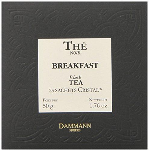 DAMMANN FRERES Breakfast Tea Sachets, 25 count