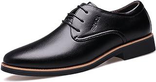 [WEWIN] (ウェウィン) ビジネスシューズ メンズ 本革 紳士靴 夏 レースアップ 外羽根 サンダル メッシュ 通気性抜群 防臭 とんがりトウ