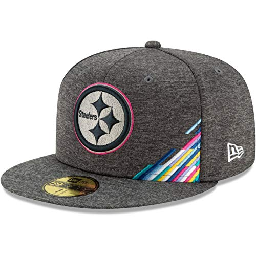 New Era Gorra 59 Fifty NFL Steelers Crucial Catch Gris - Gris - 7 1/8