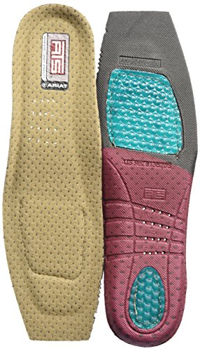 Ariat Women's ATS Footbed Wide Square Toe-A10008012, multi, 9