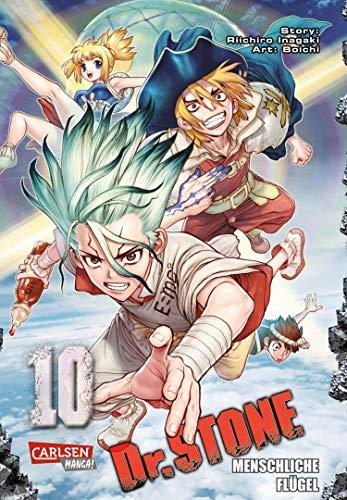 Dr. Stone 10: Verrückte Abenteuer, Action und Wissenschaft!