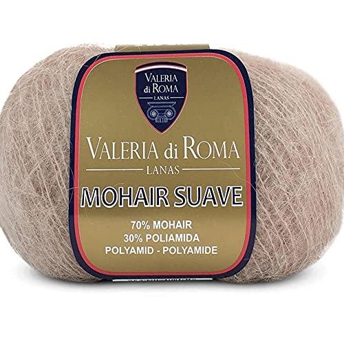 Valeria di Roma Mohair Suave Ovillo de Color Vison Cod.162