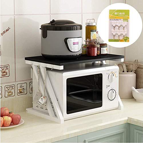 Estante cocina multifuncional Microondas horno carro