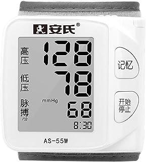 Tensiómetro de muñeca,Tensiómetro Digital De Muñeca Totalmente Automático Presión Arterial Y Detección De Pulso Arrítmico,Memoria 60 Mediciones
