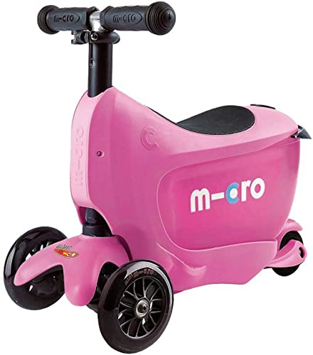 Micro Mobility Unisex mini2go Sporty Roller, Rosa