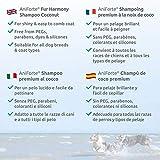 Aniforte Fellharmonie Shampoo mit Kokosöl-Extrakt & Aloe Vera 200ml Hundeshampoo Kokos-Shampoo – Naturprodukt für Hunde - 6