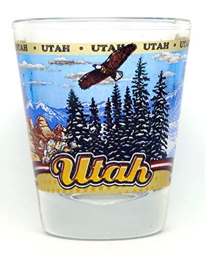 Utah State Wraparound Shot Glass