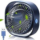 SmartDevil Ventilador USB, Mini Ventilador USB Silencioso, Personal Portátil Ventilador PC, para...