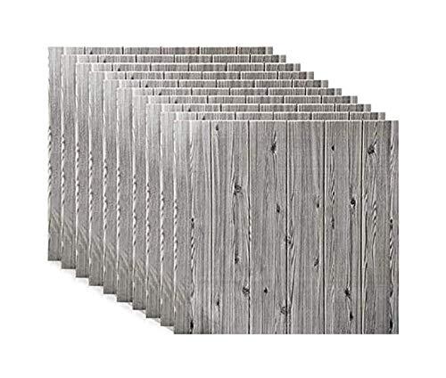 JNWEIYU Decorativo Fondo de Pantalla 3D Paneles de Pared de ladrillo 3D Pegatinas PE Espuma autoadhesiva Wallpaper Pared extraíble para Sala de Estar, Dormitorio, Bar, Pared de TV, Oficina