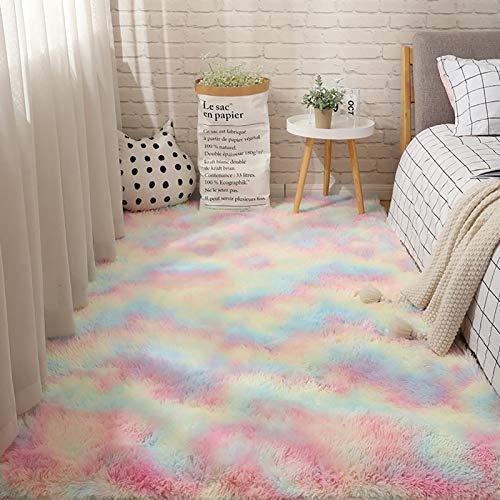 V-Parasoll Premium Geometrisch Marokkanischen Bodenteppiche Zu Schlafzimmer Leben Mädchenzimmer Kinder Indoor Teppich Einfache Reinigung Bereich Teppich Non Shedding-D 200x80cm(78.7x31.5inch)