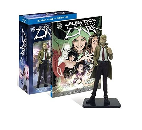 Justice League Dark: Limited Edition Gift Set - Hardcover Novel & Figurine - Exclusive #ed of 60000 (Blu-ray + DVD + Digital HD)