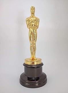 THREE 1: 1 Oscar Statue Figuras de Metal Premios del Trofeo Oscar Premios en Metal Oscar Craft, A