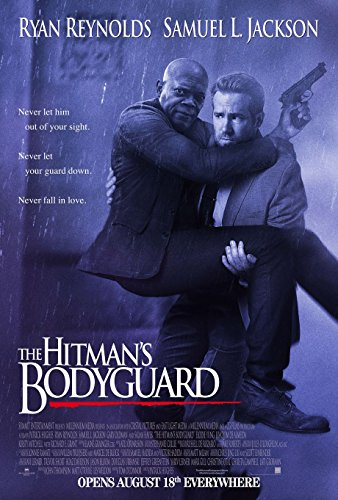 The Hitmans Bodyguard Movie Poster 18'' x 28'' - by FINESTPRINT88