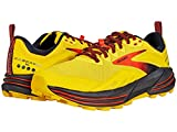 Brooks Cascadia 16, Zapatillas para Correr Hombre, Yellow Black Grenadine, 47.5 EU