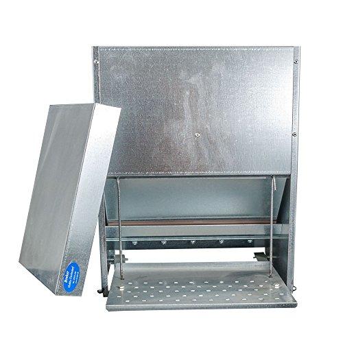 Futterautomat mit Trittklappe 25 kg - 2