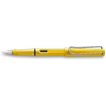 LAMY ラミー 万年筆 ペン先EF(極細字) サファリ イエロー L18-EF 両用式 コンバーター別売 正規輸入品