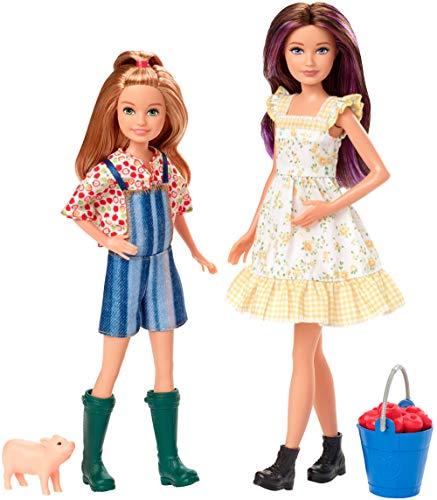 barbie stacie Barbie- Fattoria Stacie e Skipper Playset con 2 Bambole