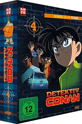 Detektiv Conan - TV-Serie - Vol.4 - [DVD]