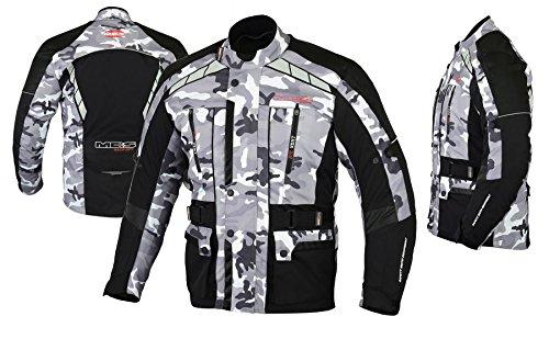 MBSmoto MJ21 James Lange Motorfiets Motorfiets Touring Textiel Waterdichte Heren Jas 3XL Camo