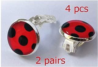 Best miraculous ladybug clip on earrings Reviews