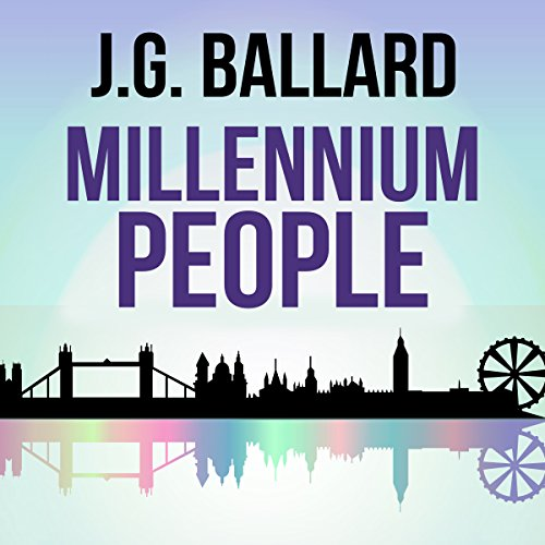 Millennium People audiobook cover art
