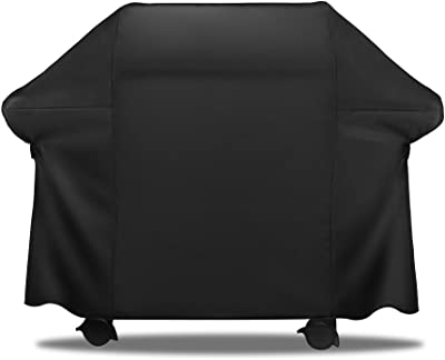 AnyWeather AWPC09 Grill Outdoor Cover, Black