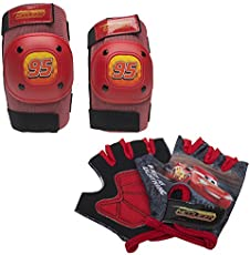 Bell Cars Pad & Glove Set