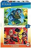 Educa - Pixar: Bichos y Los increibles 2 Puzzles Infantiles de 48 Piezas, a Partir de 4 años (18634)