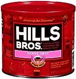 Hills Bros Donut Shop Ground Coffee, Medium Roast, 23 Oz. Can –, Slightly Sweet, Smooth Coffee Taste