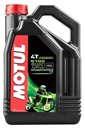 Motul 5100 4T 15W50 Synthetic Blend Oil 4 Liters (104083)