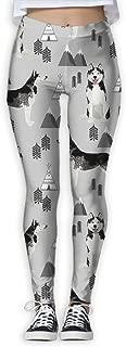 2018 Siberian Husky Women's Printed Sports Pants Yoga Pants Fitness Jogging Pants