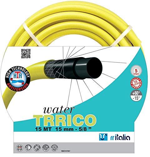 RR Italie Water trrico Tuyau d'arrosage, jaune