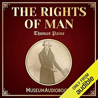 The Rights of Man audiobook cover art