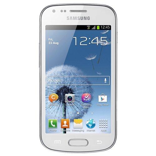 """Samsung Galaxy Trend Plus S7580 - Smartphone libre (pantalla 4"""", 480 x 800 Pixeles, cámara 5 Mp, 4 GB, 1.2 GHz, 768 MB de RAM, Android 4.2), Blanco [versión europea]"""
