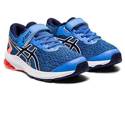 ASICS Unisex-Child 1014A151-401_31,5 Running Shoes, Blue, 31.5 EU