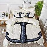 ropa de cama - Juego de funda nórdica, jardín zen, diseño oriental con símbolos asiáticos,...