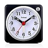 Best Travel Alarm Clocks - Tinload Small Analog Travel Alarm Clock Silent Non Review