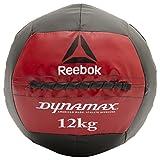 Reebok Dynamax Balón Medicinal, Negro, 9 kg