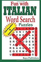 Fun With Italian Word Search Puzzles: Volume 1