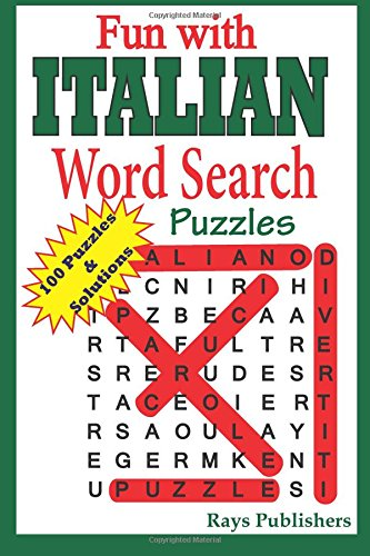 Fun with Italian - Word Search Puzzles (Volume 1) (Italian Edition)