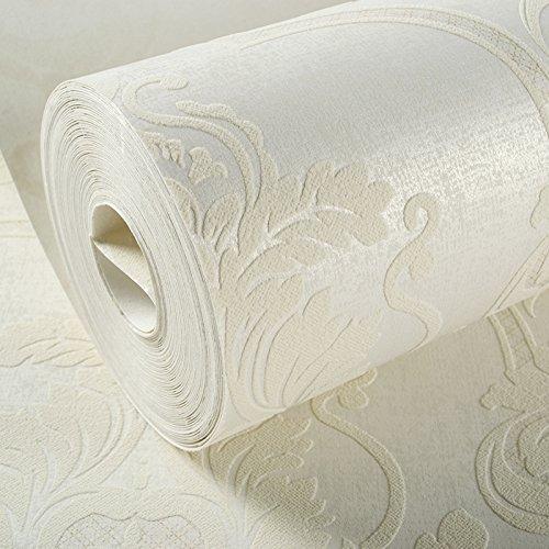 Damaskus Tapete Wohnzimmer 3D-Vlies Tapete einfache Schlafzimmer ab Wallpaper Reis