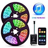ELlight LED Strip Lights with Music Sync, 32.8ft Dream Color LED Lights, Color Changing LED Strip...