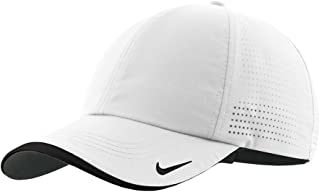 Nike Golf – Dri-FIT Swoosh Perforated Cap , 429467, White, No Size
