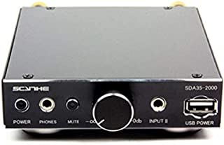 SCYTHE Kama Bay Mini Pro, Stereo HiFi Audio Amplifier, 20W Dual Channels with AUX Input, DC Adapter Included