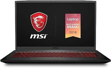 "MSI GF75 Thin 9SC-027 17.3"" Gaming Laptop, Thin Bezel, Intel Core i7-9750H, NVIDIA GeForce GTX1650, 16GB, 512GB NVMe SSD"