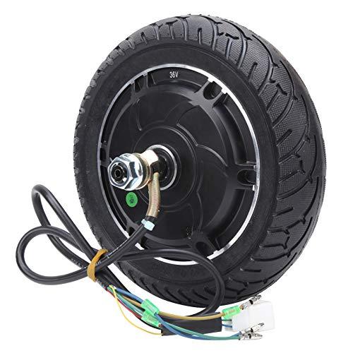 Dilwe Nabenmotor, 36V 350W Scooter Bürstenloser zahnloser Nabenradmotor mit Hallkabel Geeignet für 8-Zoll-Elektroroller