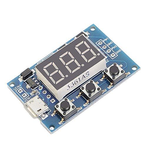 ARCELI Digital 2 Kanal PWM-Rechteckwellen-Impulssignal-Generator-justierbares Frequenzarbeitszyklus 100{88cc3be0de6e78053b91322f9cfcb330e34594bcabb0b42605d7b0d80fd25ba1} 1Hz-150KHz